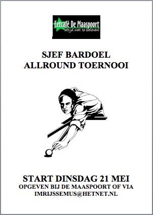 Affiche Allroundtoernooi 2013