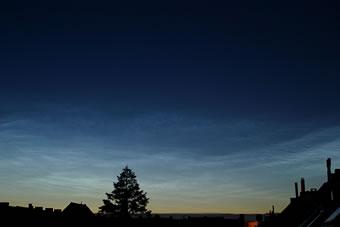 lichtende nachtwolken - wolkenatlas