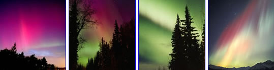 De kleuren van het noorderlicht