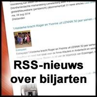 RSS nieuws over biljarten