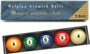 Spelsoorten - 5-ball-set