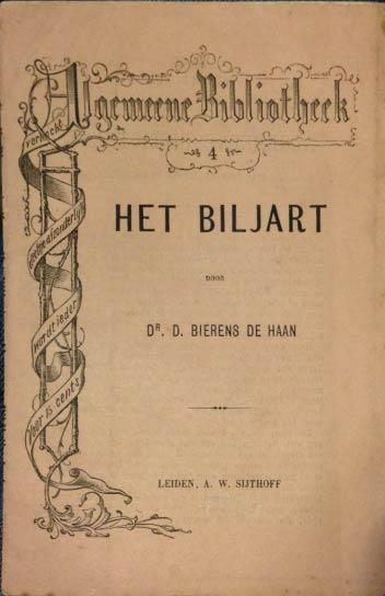 Biljartboek