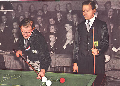 Kees de Ruyter - Nederlandse Sportsuccessen Leeunwenzegel Margarine 1954
