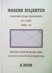 Biljartboeken - Modern Biljarten - A. Duon