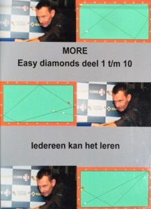 Biljartboeken - More Easy Diamonds 1 tm 10 - Frans van Schaik