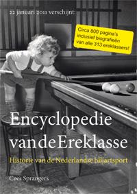 Biljartboeken - Encyclopedie van de Ereklasse - Cees Sprangers