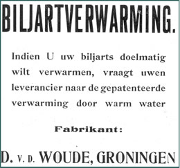 biljartverwarming