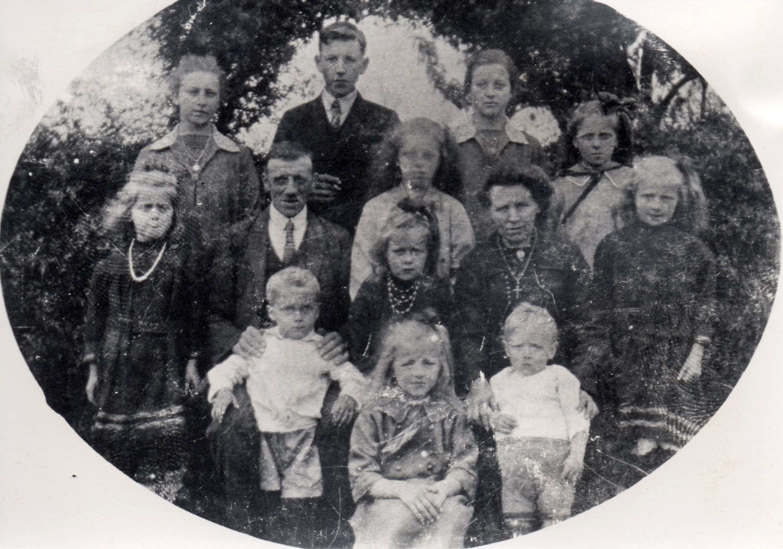 Gezin Martinus van Bommel - Paters
