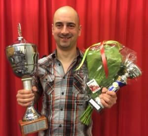 De winnaar Maikel Josemanders