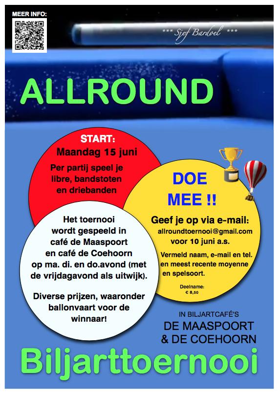 Poster Allroundtoernooi 2015