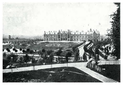 Op een gedeelte van het bolwerk Hartenaas werd in 1888 het Elisabethrustoord neergezet door regenten van het St. Catharinagasthuis. De oude vestinggordel werd herschapen in een fraai park.