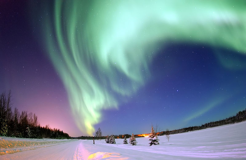 De schoonheid van het noorderlicht
