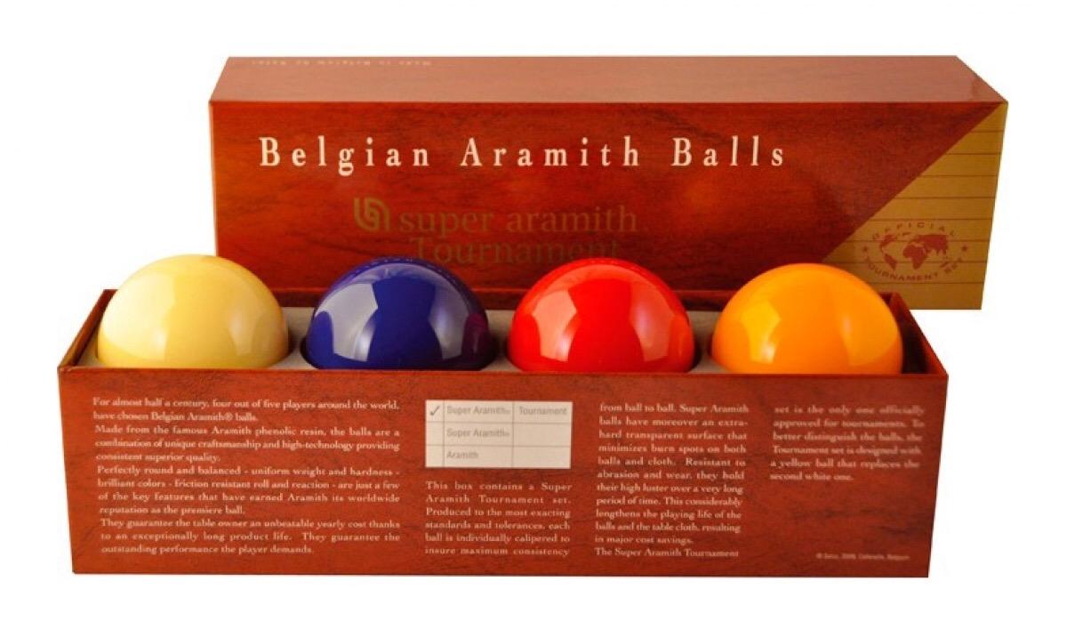 Spelaccessoires: 5-ball biljartballen