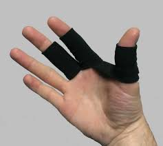 Vingerschoen oftewel finger glove