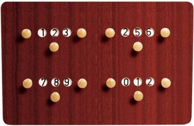 houtenscorebord