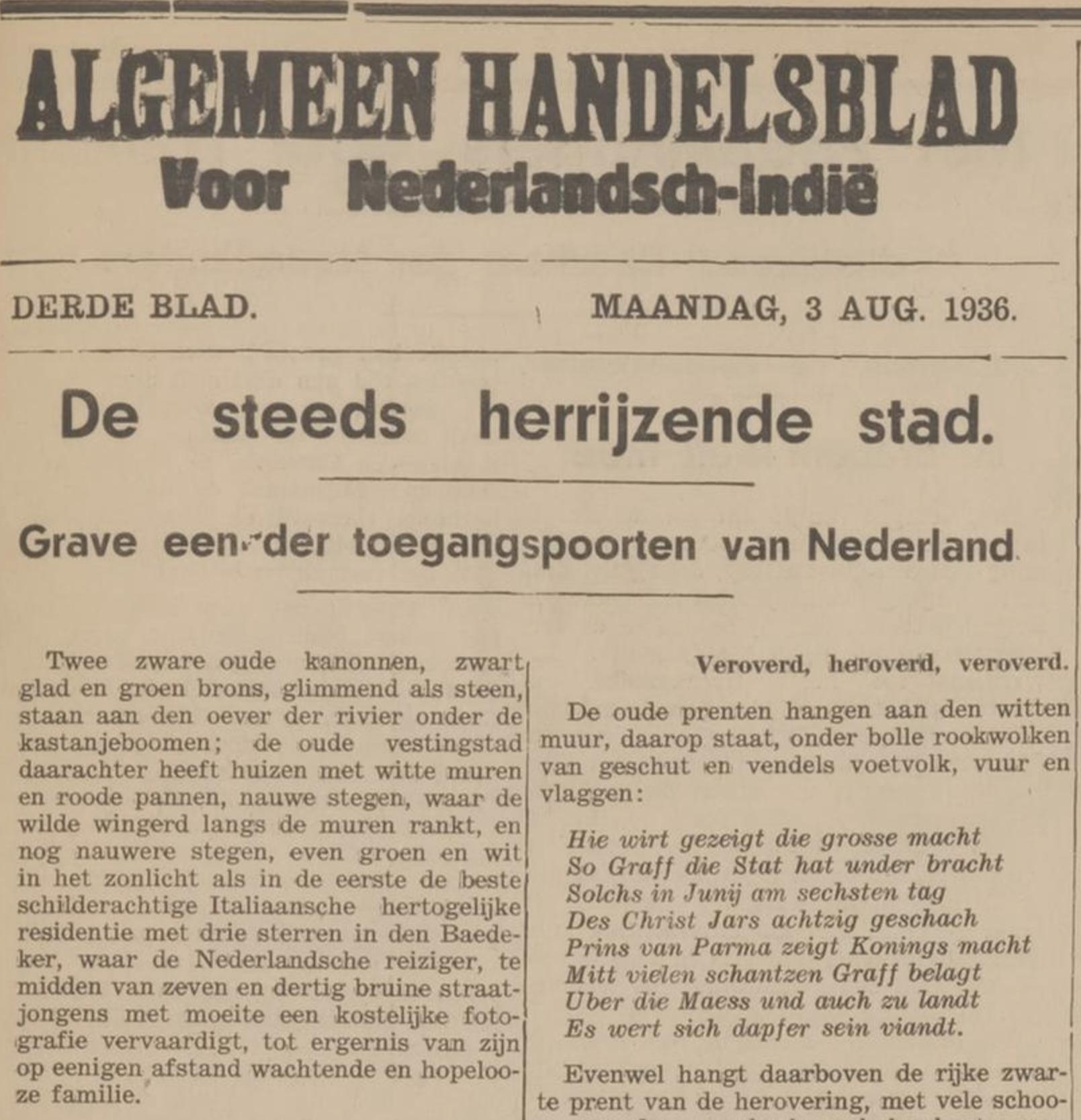 Zoeken in oude kranten