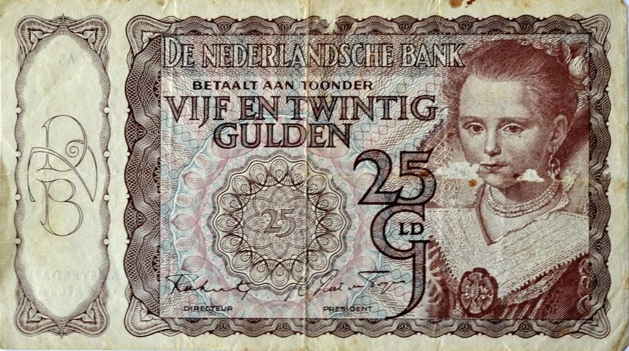 1945 25 gulden