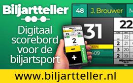 Biljartteller Digitaal scorebord voor de biljartsport
